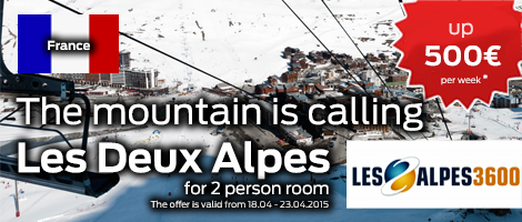 Holidays in Les Deux Alpes