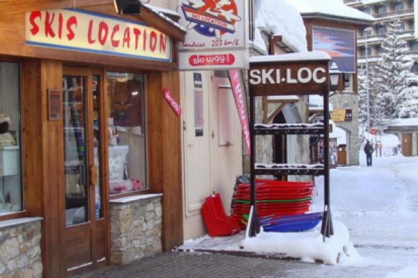 Ski Location - Sandrine 203km/h